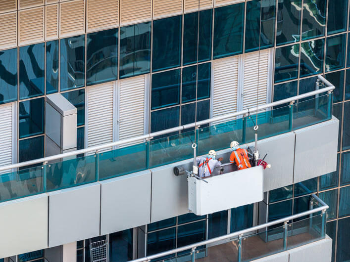 Cladding Inspection and Repair