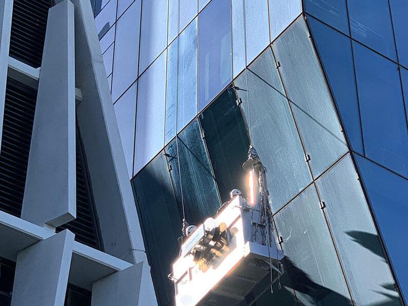 High Access Glass Restoration