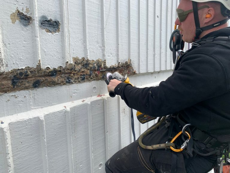 steel reinforcement remediation